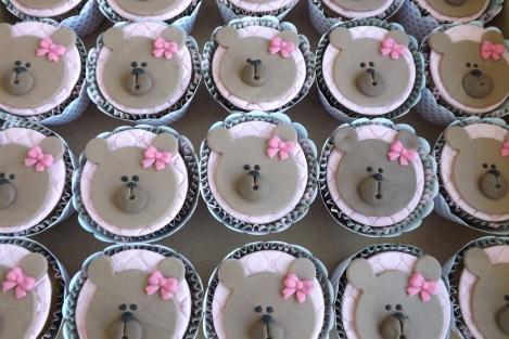 Cupcakes de ursinho