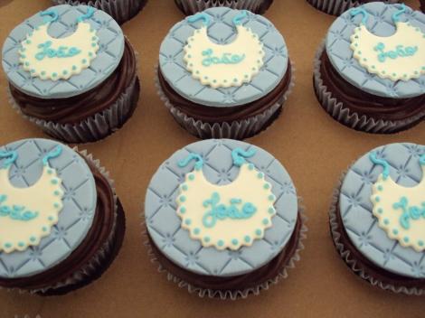 Cupcakes chá de bebê menino