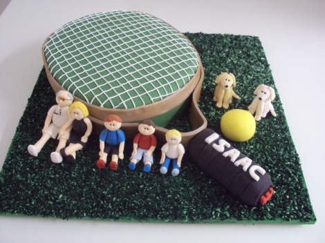 Bolo Raquete de Tenis