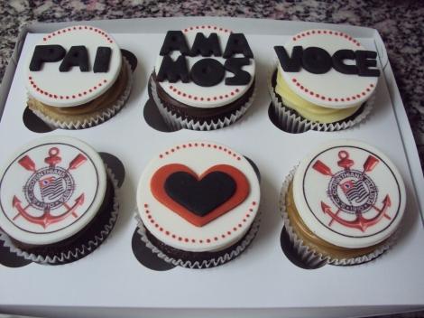 Cupcakes dia dos Pais