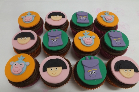 Cupcakes Dora Aventureira