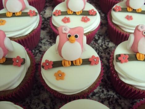 Cupcakes Corujinha