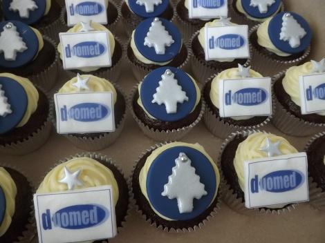 Cupcakes personalizados para festas de empresas