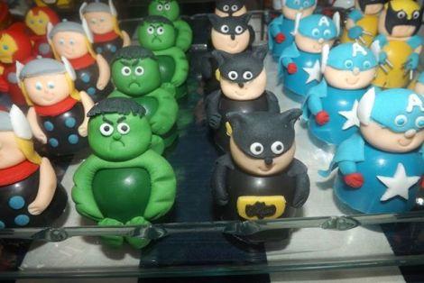 Bombons decorados Os Vingadores