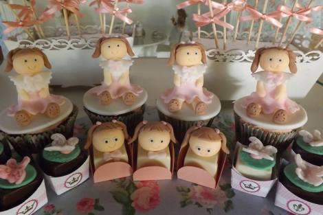 Bombons decorados festa boneca